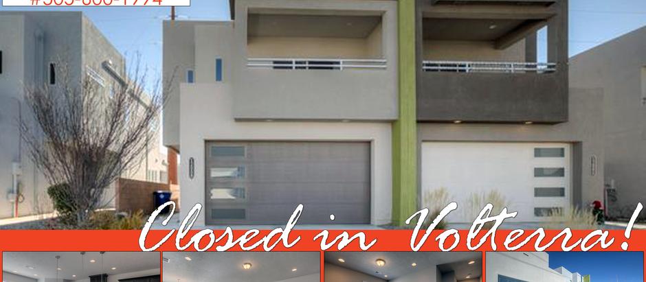 Just Closed in Volterra