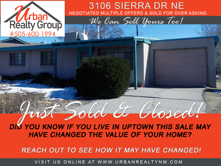 Sold & Closed in Uptown