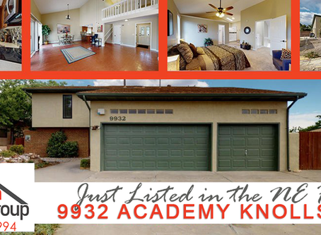 Just Listed in the NE Heights