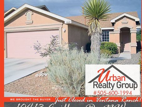 Just Closed in Ventana Ranch