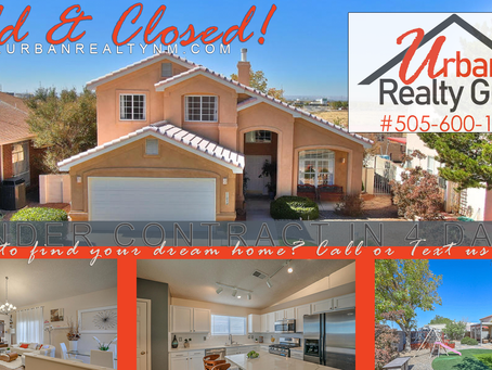 Sold & Closed in the S.E. Heights