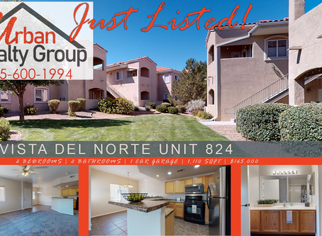 Just listed in Vista Del Norte