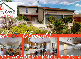 Sold & Closed in the NE Heights