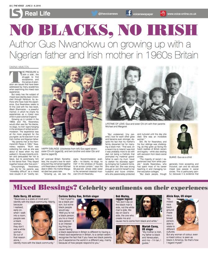 No Blacks, No Irish | The Voice