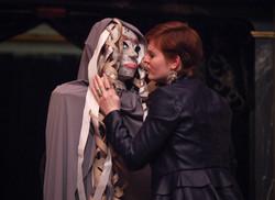 as Joan Faustus in Dr. Faustus