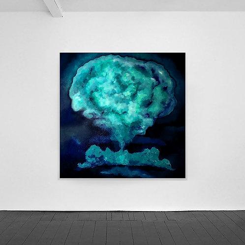 Mushroom Cloud Cyan