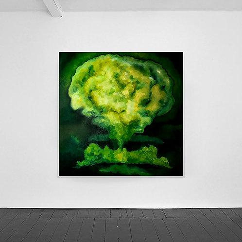 Mushroom Cloud Green