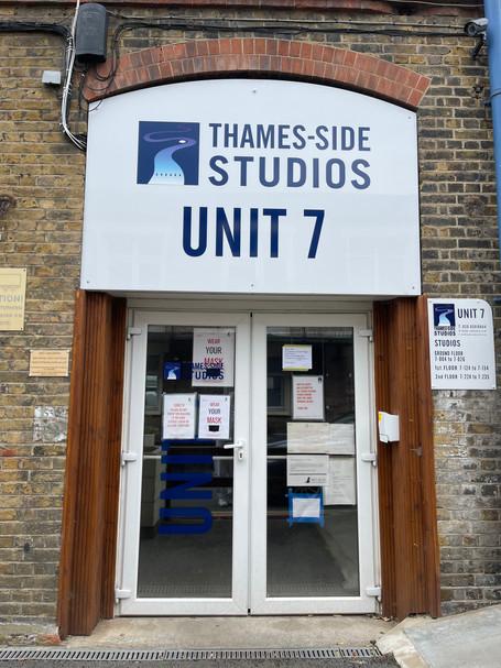 Main entrance to studio