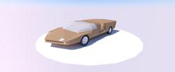render koncepcji auta