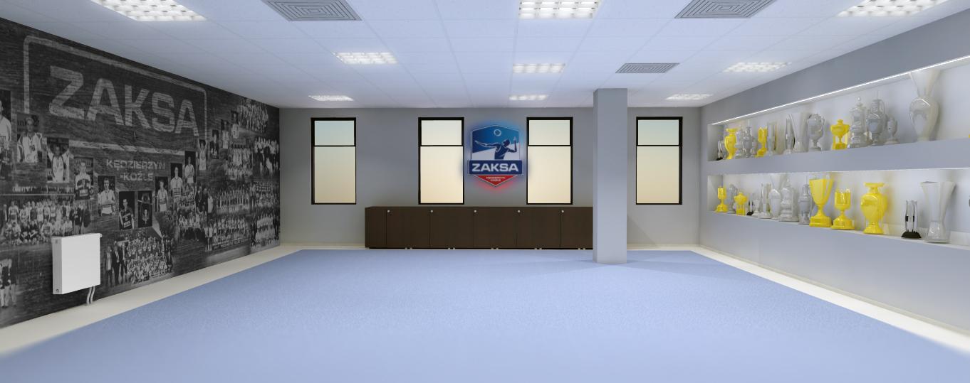 wizualizacja sali chwały ZAKSA