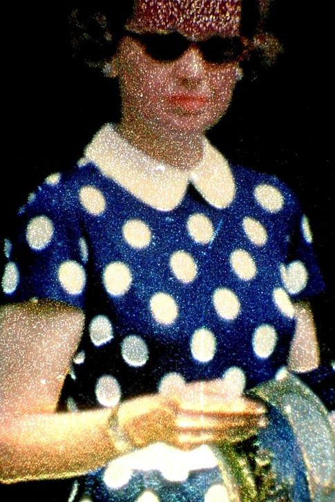 Blue Dress On 1958
