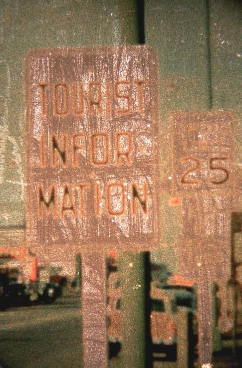 Tourist Information 1955