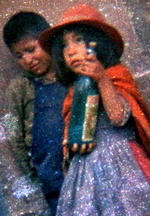 Bolivian Bottle Girl 1956
