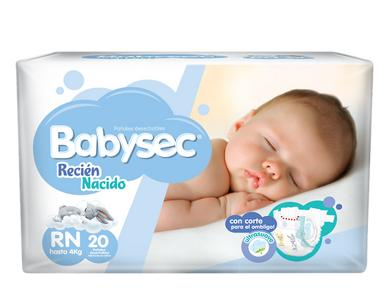 Babysec Recién Nacido Pack