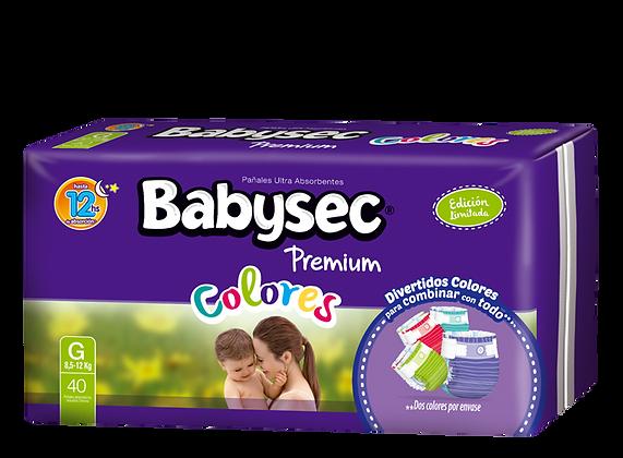 Babysec Premium Colores - Grande