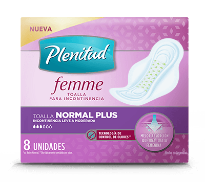 Plenitud Femme Toalla Normal Plus