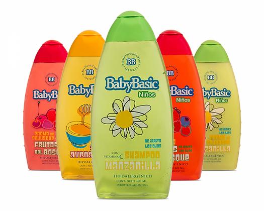 Shampoos y Cremas de enjuagues para niños