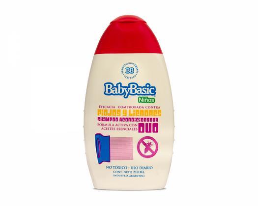 Shampoo Acondicionador DUO contra piojos y liendres