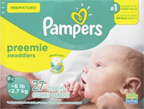 Pampers®  PREMATUROS