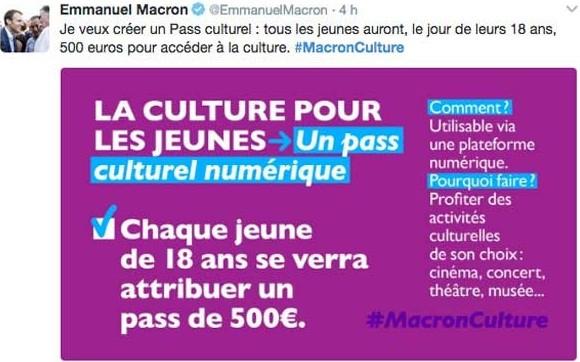 #MacronCulture
