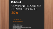 """REDUIRE SES CHARGES SOCIALES - Le Guide"" / 2016"