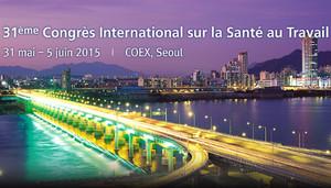 # Evénement   Congrès International CIST 2015 sur la santé au travail à Séoul (Corée du Sud).