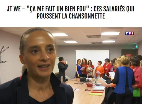 """Reportage TF1  - """"ÇA ME FAIT UN BIEN FOU"""" : CES SALARIÉS QUI POUSSENT LA CHANSONNETTE"""
