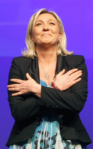 """Marine Le Pen (Front National) :""""L'exception culturelle française est mise en danger par l"""