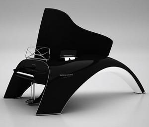 #INSTRUMENT | Un piano inspiré par les baleines...l'idée serait apparu dans un rêve.