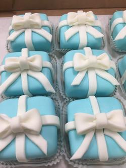 Tiffany Box Petite Fours