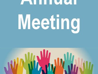 January 19th, 4pm - Annual Meeting