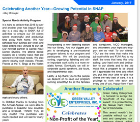January News - Celebrating Another Year