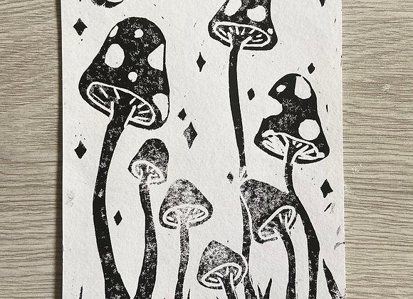 toadstool magic print