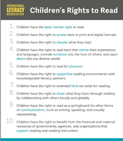 Join the Petition for ILA and Children's Rights to Read