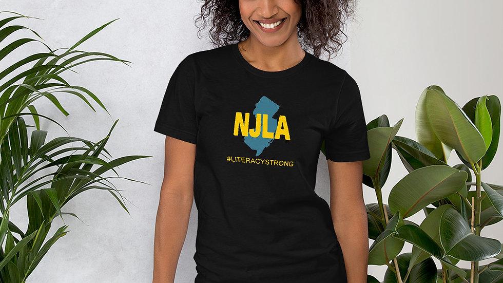 NJLA State Hashtag Unisex Tee