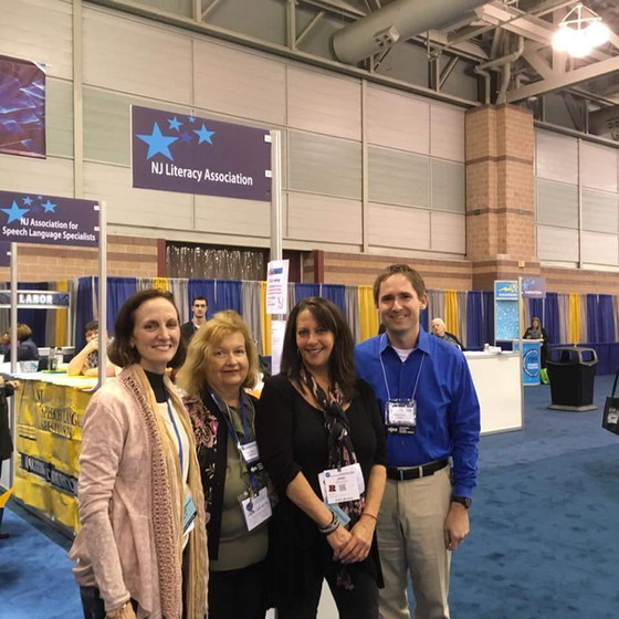 NJLA visits the NJEA Convention