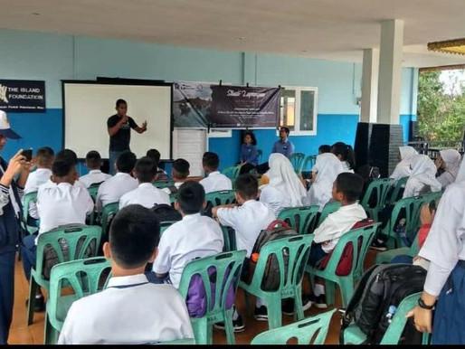 Tintin at Tunas Bangsa Junior High School, Lagoi