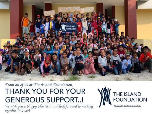Happy New Year from The Island Foundation