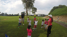 September 2016 School Holiday Golf Camp