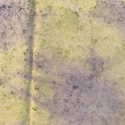 "Prayer Scarf Item 121 Green, blue- large, 10.25"" x 57.75"""