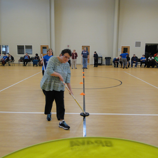 march madness special olympics floor hoc