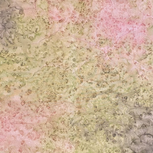 "Prayer Scarf Item 134 by John M Green, peach, grey- large, 10.5"" x 58"""