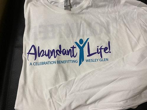 Wesley Glen Abundant Life Volunteer long-sleeve tshirt