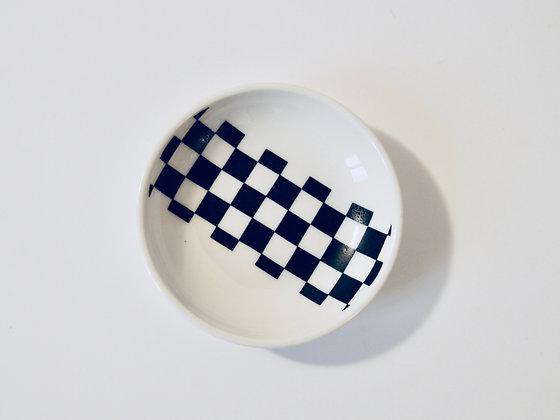 Small Plate Ichimatsu- Coupelle