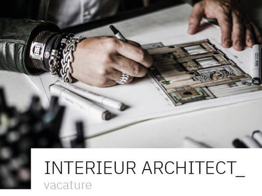 Vacature Interieur Architect