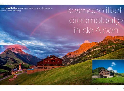 Designer Hans Kuijten voegt luxe, sfeer en warmte toe aan PURE Resort Warth-Arlberg.