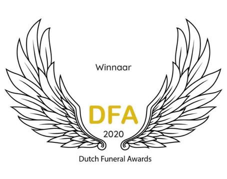 Winnaar Dutch Funeral Awards