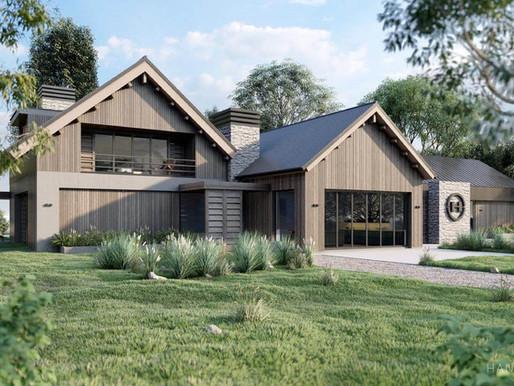 Ontwerp eigentijds residentieel project: villa in combinatie met studio-bedrijfsruimte
