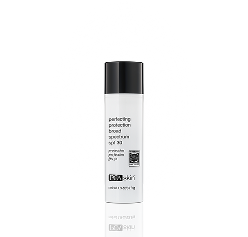 Perfecting Protection Broad Spectrum SPF 30 net wt 1.9 oz/ 53.9 g