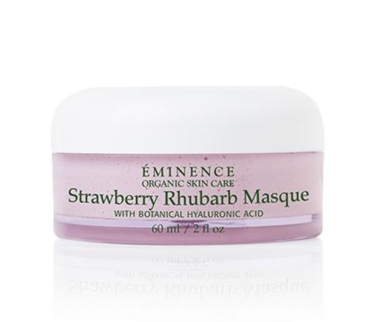 Eminence strawberry hyaluronic facial